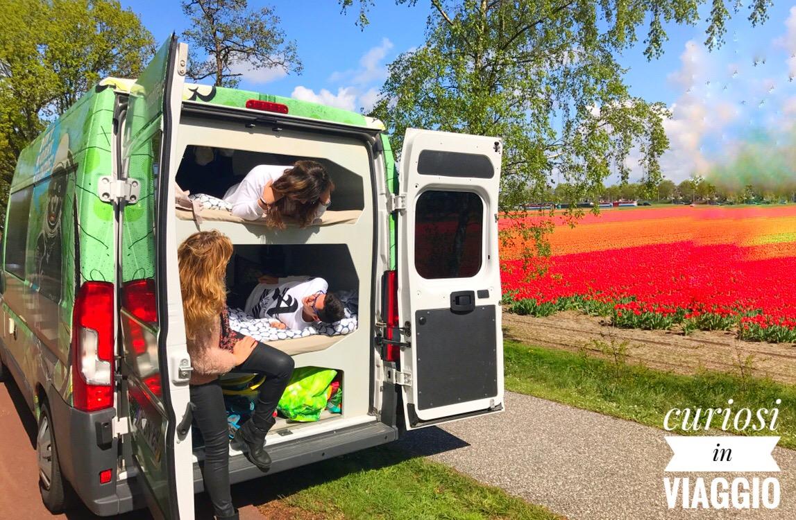 Olanda, viaggio di primavera in Camper