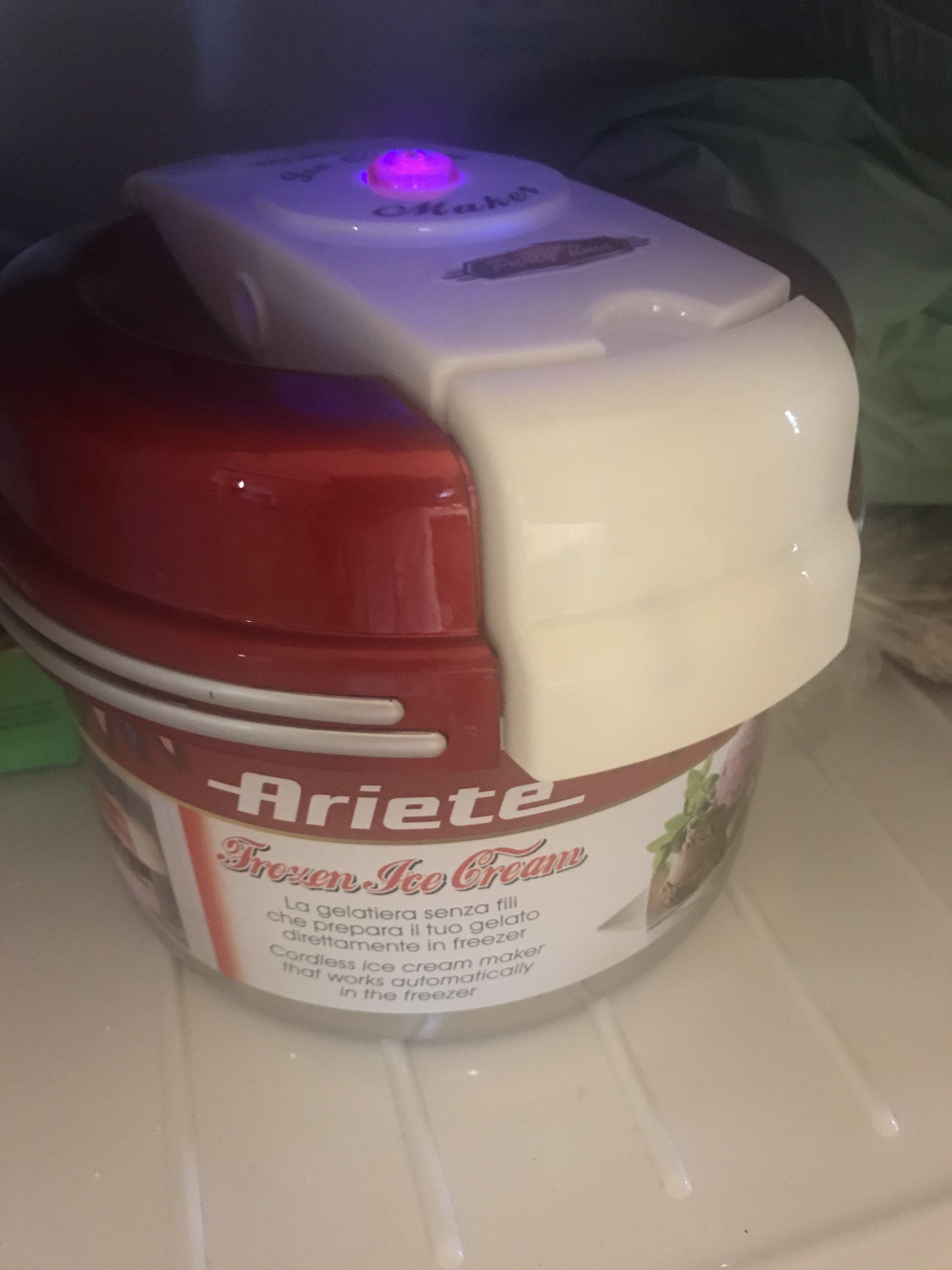 Gelatiera Ariete Frozen Ice Cream