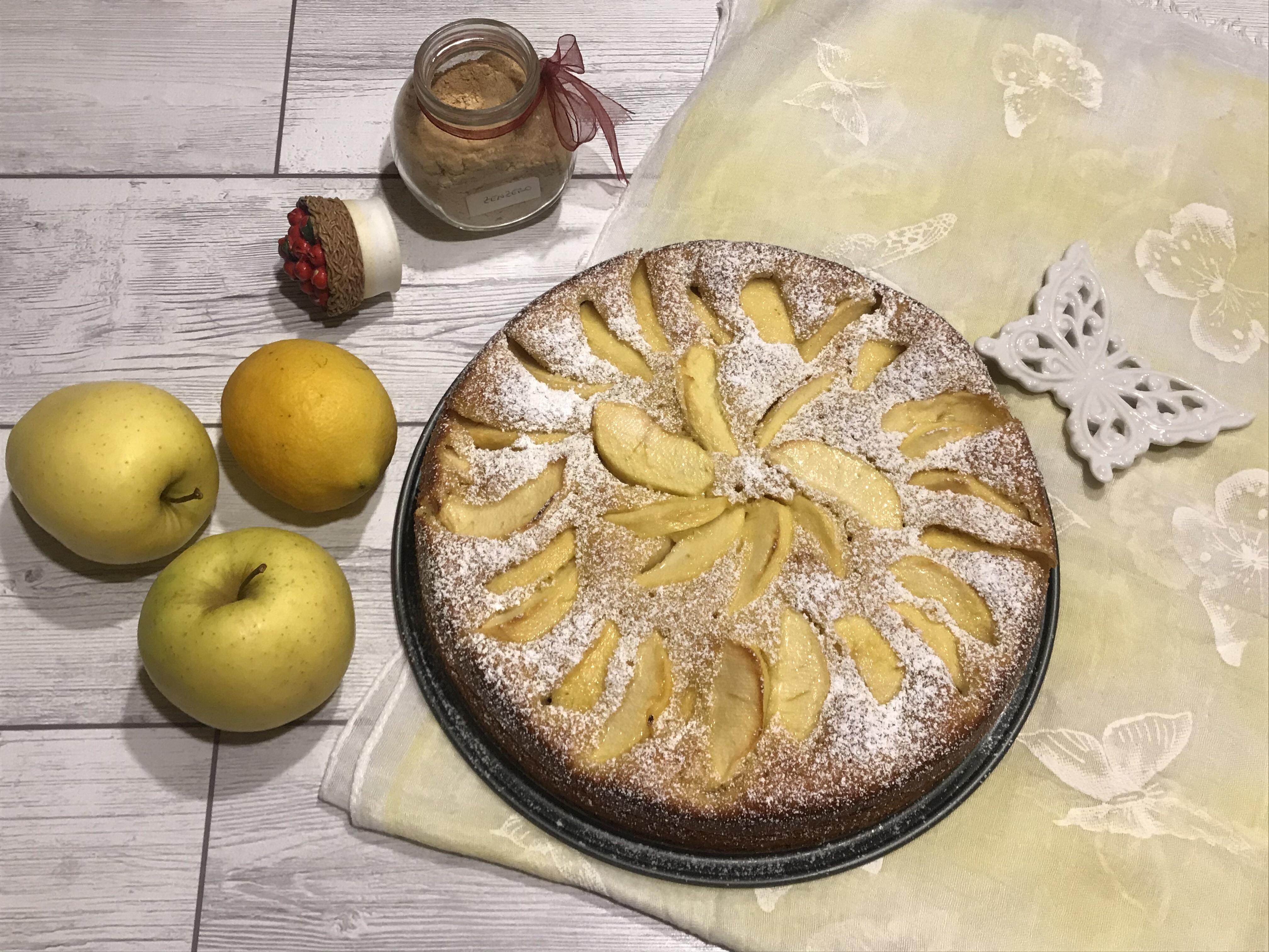 Torta di Mele Limone e Zenzero