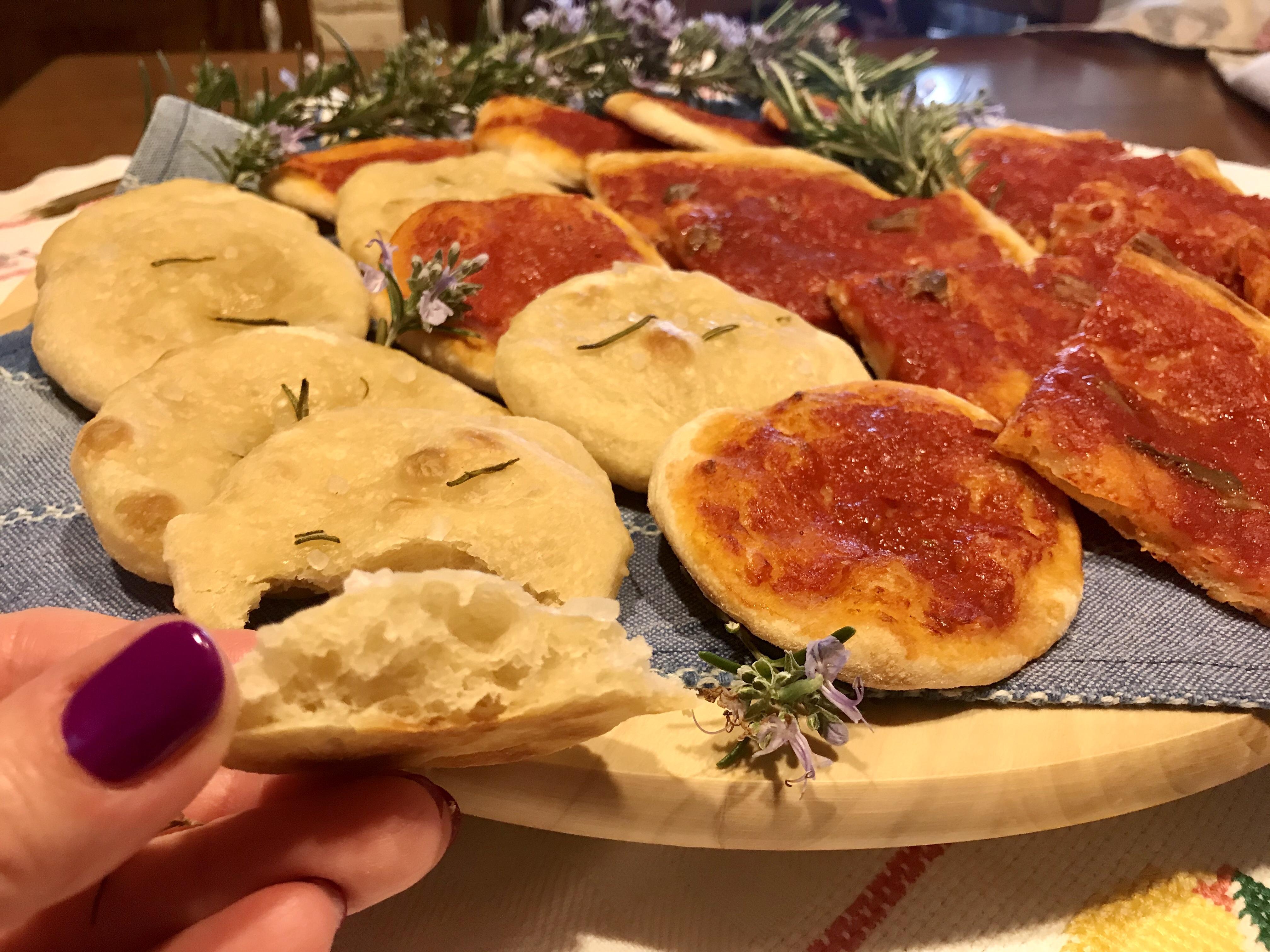 Pizza senza lievito, solo con acqua fermentata di frutta
